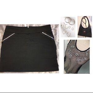 BUY 1 GET 1 HALF OFF BCBGeneration Bandage Skirt